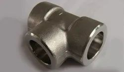 Mild Steel Socket Weld Unequal Tee