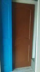 Casement Polished PVC Fibre Doors, For Home, Interior