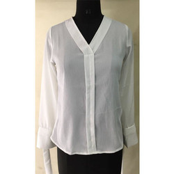 Ladies White Shirt