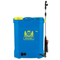Royal India Double Pump Solar Battery Operated Spray Machine, For Multipurpose Usage, 12 Vdc
