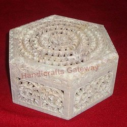 Exclusive Stone Carving Box