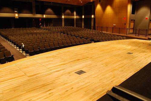 Auditorium Stage Wooden Flooring Gallant Sports Infra Private