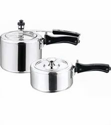 Routine Domestic Use Silver Pressure Cooker, For Home