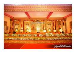 Natural Flowers Backdrops Services