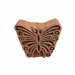 Butterfly Pattern Wooden Henna Printing Blocks