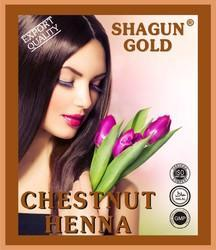 Shagun Gold Chestnut Hair Dye Powder