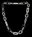 Black & White Resin Necklace