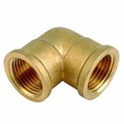 90 Deg Brass Female Elbow