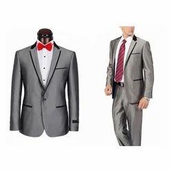 Grey Slim Fit Mens Reception Suit