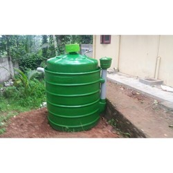 1.5 Cubic Meter Waste Management & Biogas Storage Tank