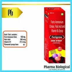 Ferric Ammonium Citrate-Folic Acid- Vitamin B 200 Ml Syrup