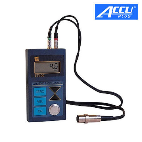 "0.001/"" 0.1mm Ultrasonic Wall Corrosion Thickness Gauge Tester TIME2110"