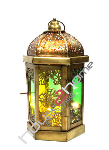 Decorative Corporate Diwali Gift Lantern Candle Holder