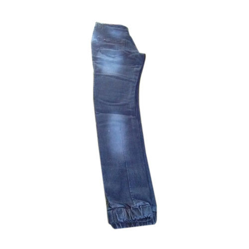 Mens Blue Jogger Jeans, Waist Size: 34 And 36