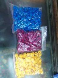 Round Cotton Fancy Bead, Size: 12 Mm