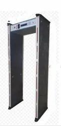 Six Zone Metal Detector