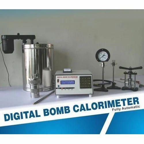 Electric Bomb Calorimeter, डिजिटल बम कैलोरीमीटर ...
