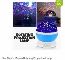 Rotating Projection Lamp