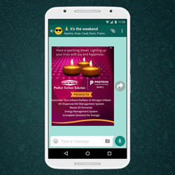 Whatsapp Marketing Banner Design