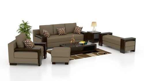 Synthetic Leather And Plastic Modern Sofa Set Rs 600