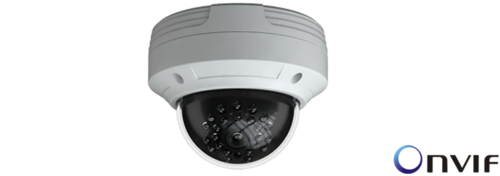 TVT H265 TD 9533E2 IP Dome Camera