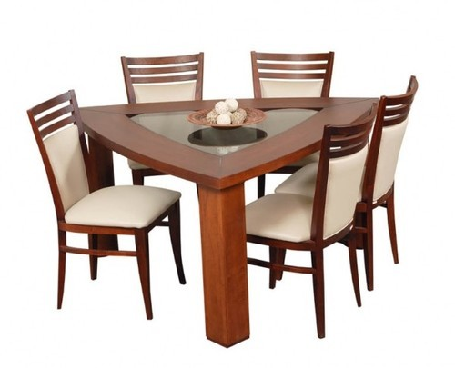 Brown Pk Enterprises Triangular Shape Dinning Table Rs 9000 Piece Id 15913791412