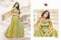 Green Printed Mayra Kurti