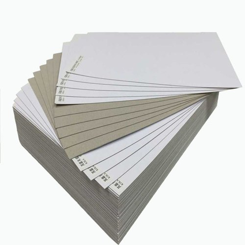 Brown, White Paper Boards Duplex Board, Packaging Type: Packet