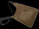 Soft Leather Cross Body Sling Bag