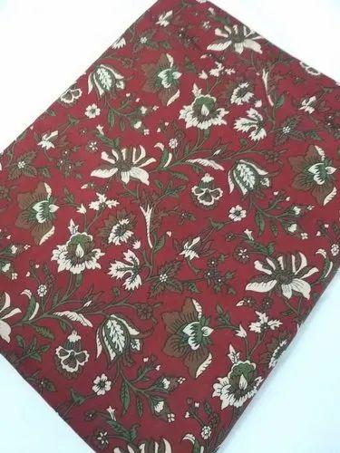 Bagru Printed Cotton Fabric