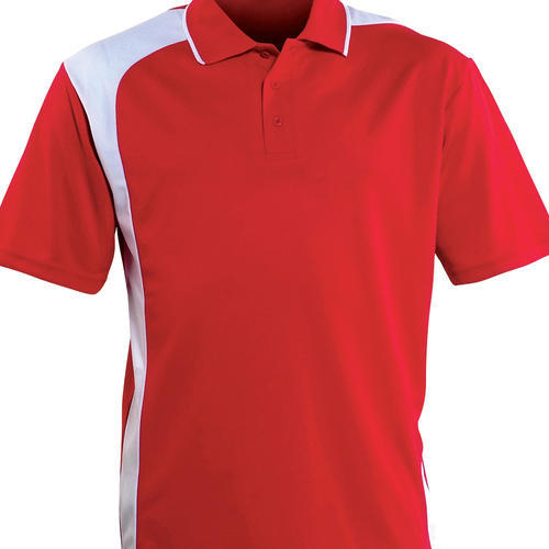 b82a2eca3 Red And White Men's Corporate Polo T-Shirt, Rs 150 /piece | ID ...