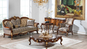 Antique Wooden Carved Sofa Set By Aarsun, For Home