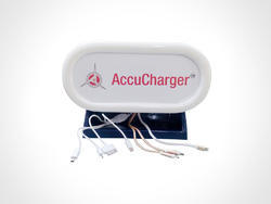 White Mini Charging Station