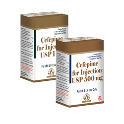 Cefepime for Injection USP 500 mg/1g