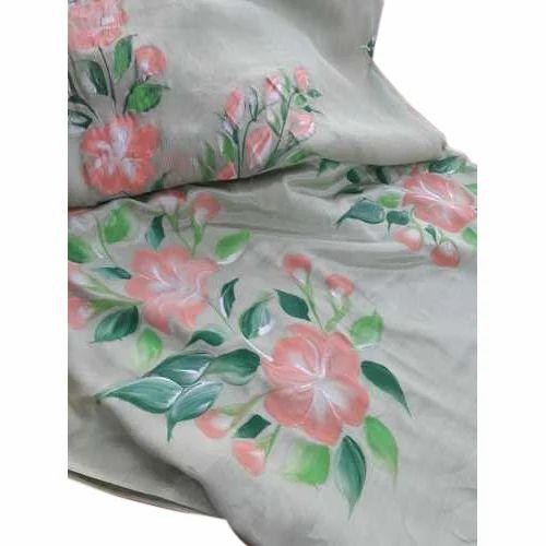 19b6ccab9d Ladies Cotton Hand Block Brush Printed Unstitched Suit, Rs 2300 ...