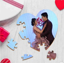 Mdf Wood Photo Puzzle With Message