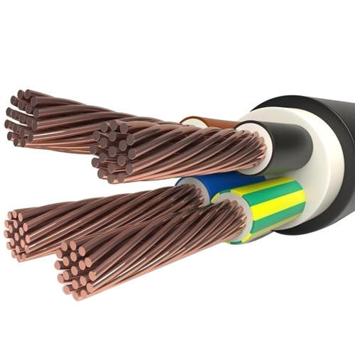4 Core Copper Cable, 220/230v
