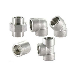 Stainless Steel Forged Fittings, Size: 1/4 to 4 inch