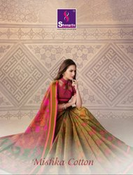 Shangrila Mishka Cotton Silk Saree