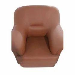 Solid Wood Single Seater Sofa