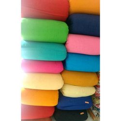 Plain Cotton Fabric, GSM: 100-150
