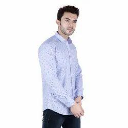 Casual Print Mens Shirt, Size: 38/42
