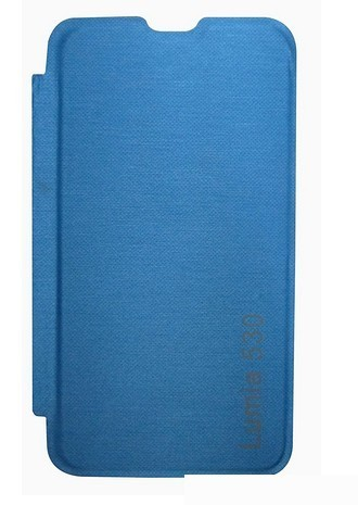 cheap for discount 4f8a5 a77dc Cover Cafe Flip Cover For Nokia Lumia 530 (blue)