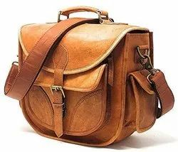 Solid Leather Sling Camera Bag Leather Camera Bag, Pure Leather: Yes, IMB313