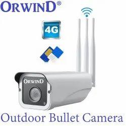 4G Sim Card Security Camera