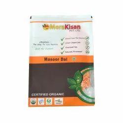 Mera Kisan Organic Masoor Dal, 500 Gm