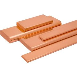 Square Edge Copper Busbar