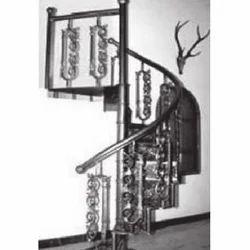 Designer Cast Iron Staircase Railing