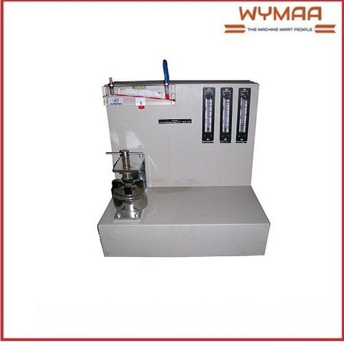 Stainless Steel Digital Air Permeability Tester, for Laboratory