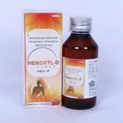 Dextromethorphen Hydrobromide Chlorpheniramine Phenylepherine Hydrochloride Syrup